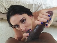 POV anal for a thick Latina in great aerate