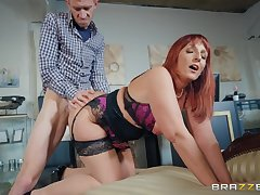 Redhead mother screwed yon doggy Fossilized Road Blow Danny D, Beau Diamond