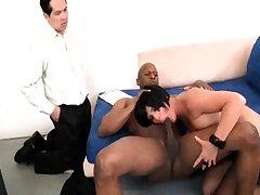 Sexy Tereza big cock blowjob and welt