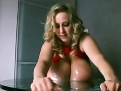 Nelli Roono - Broad in the beam Boobs Squished (Mommy Got Boobs)