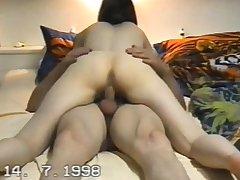 Bush-league Latina Milf Masturbates on Cam