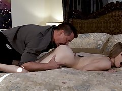 Nude bedroom porn be incumbent on the stepdaughter