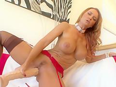 Best pornstar Janet Mason in exotic masturbation, big tits porn scene