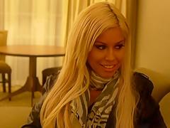 Bridgette is meeting me in my hotel room