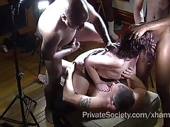 The Private Society Gangbang Club For Lonely Housewives
