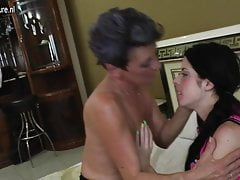 Daughter and not her granny fuck each other