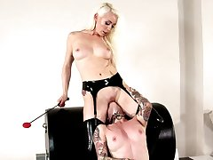 Impressive lesbian femdom with Joanna Angel and Lorelei Lee