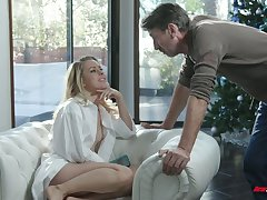 Riveting temptress Lilly Lit is expectant for hard dick which belongs to her stepdad