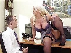 Alura Jenson Hot Office Mating