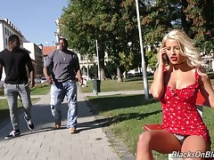 Complete spitfire with big boobs Sienna Day is fucked by two successfully insidious strangers
