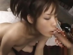 Oriental slut loves cock and toys to shot glum fun nearby