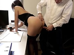 Absolute passion with the maid who loves cock primarily anything