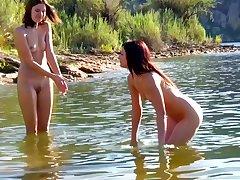 DavidNudes - Cami and Bree Nude Sports Volleyball - teenage