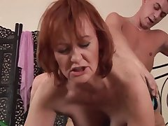 Hotness Housewife Redhead Whore Sucks And Fu - high transparency