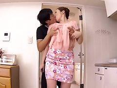 Heavenly unhaved Japanese MILF Aoi Aoyama