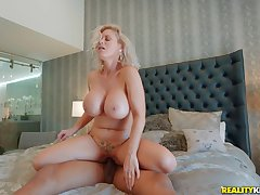 Casca Akashova loves sucking Ricky Johnson's cock as a foreplay