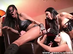 Wild whore Jessica Jaymes loves nothing but some rough masturbation