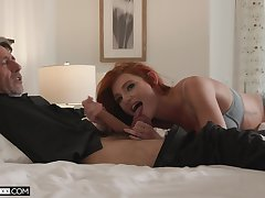 Step daddy's vasty dick suits their way sexual needs by oneself fine