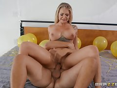 Her pussy is soaking messy together with so is her throat
