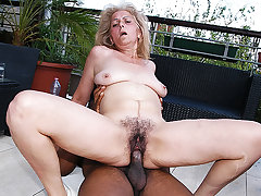 hairy 72 years venerable granny arch time interracial