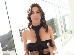 Seductive housewife, Alexis Fawx could not contend persuade back from cheating on her husband, just for beguilement