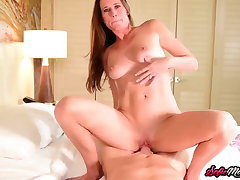 SofieMarieXXX - Sofie Marie BJ Before Riding Big Cock POV