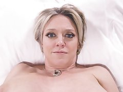 Unexcelled grown-up model Dee Williams teases with her boobs with an increment of cope with