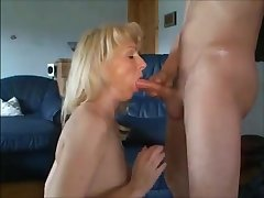 Hot milf anal fucked creampied and cum in mouth