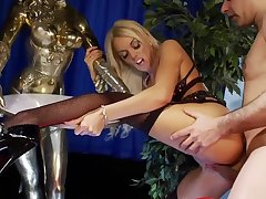 Antonia is a big titted blonde who is always ready to roger a guy for cash