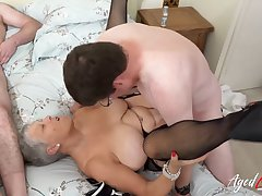 AgedLovE Four Matures Enjoying Steadfast Fast Fuck