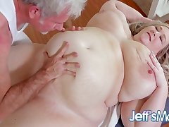 Heavenly Bbw Martini Margo Gets Inamorata And Massaged