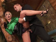 Sylvia Laurent - Blondie Babe Enjoys Snatch Penetration