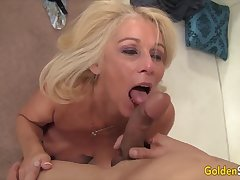 Golden Slut - Overwhelming Matures Worship Big Cocks Compilation