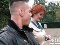 Buxom Red-Haired Cougar Zara DuRose (Ginger Thicket) - DATERANGER