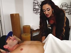 Artemisia Love - Erotic Oil Massage For A Dick