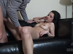Cuckold Is Watching How Slutty Girlfriend Rides Big Faux pas